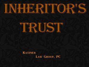 inheritor's trust